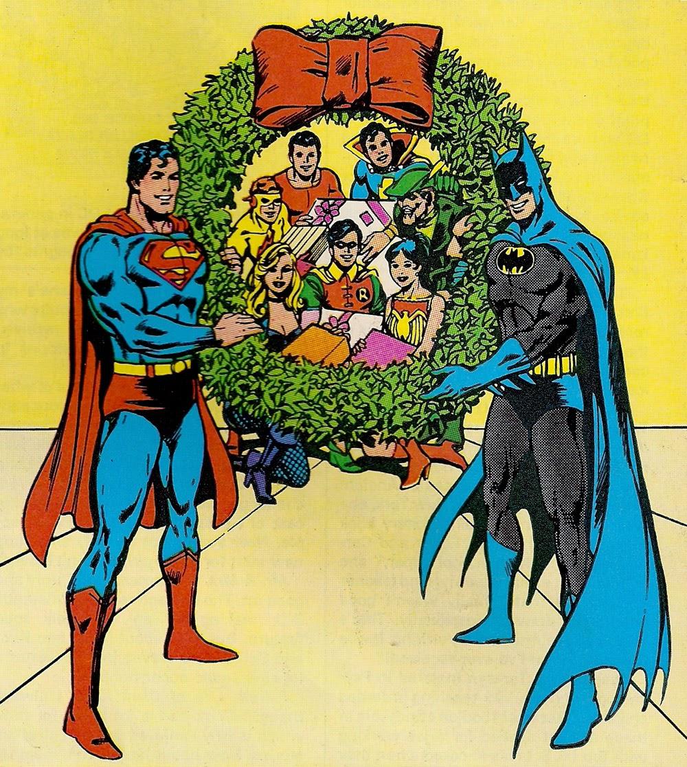 dc comics says merry christmas - Dc Christmas