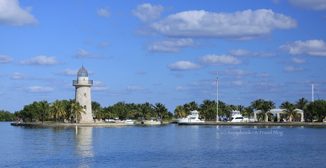 Fake Lighthouse at Boca Chita Key Biscayne National Park
