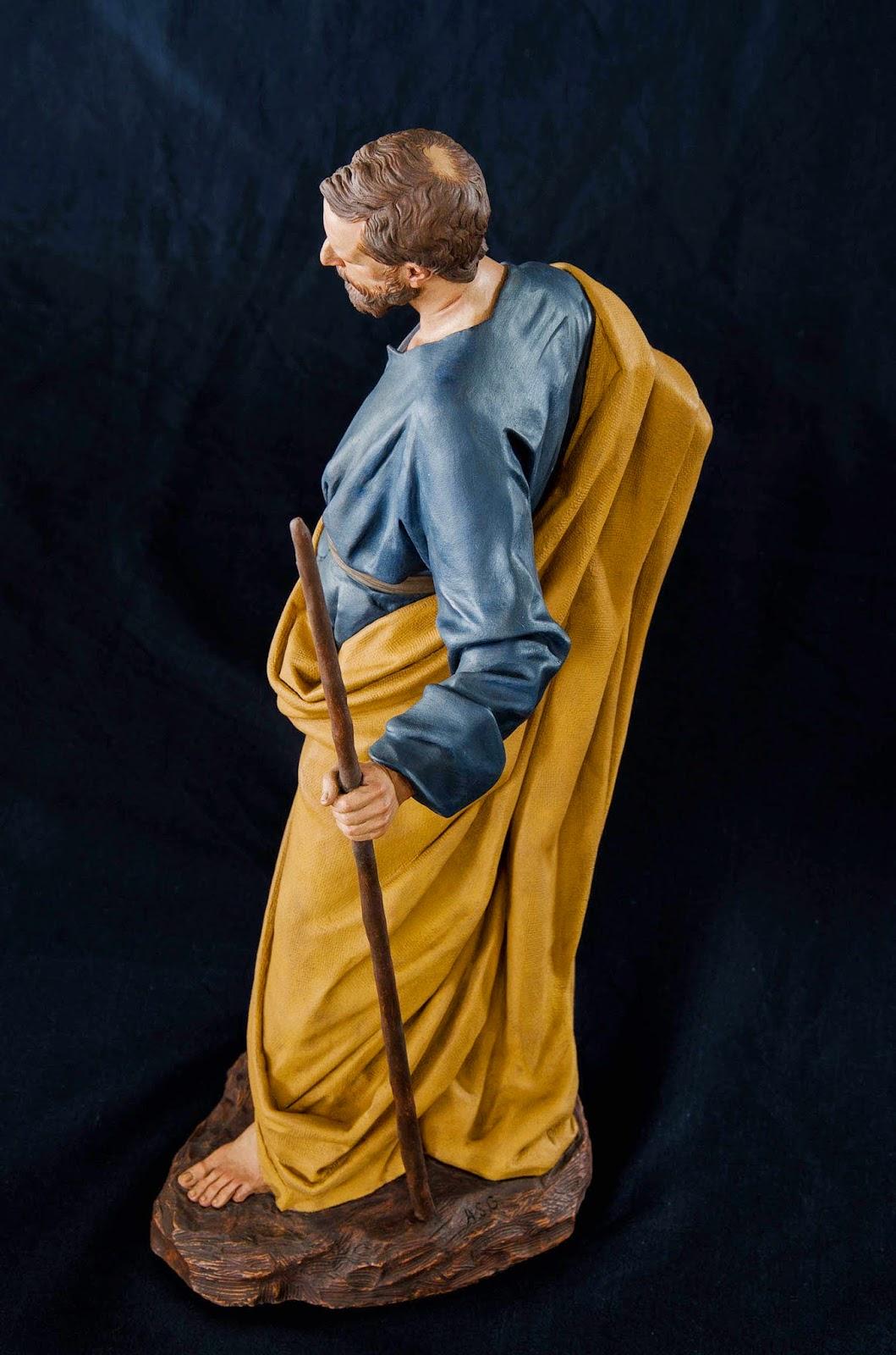 Nacimiento Belén Nativity presepe krippe Arturo Serra Barro cocido 8