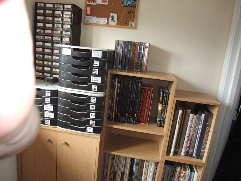 Man Cave Storage Wars Facebook : Kevs wargames cabin man cave re shuffle part