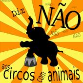 DIGA NAO A CIRCO COM ANIMAIS