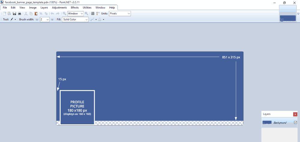 Program pembuat facebook cover gratis