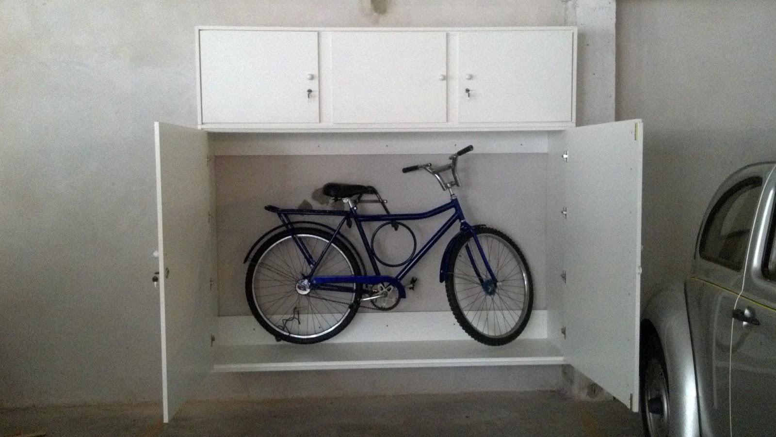 Artes do dinho arm rio para bicicleta for Armario exterior para guardar bicicletas