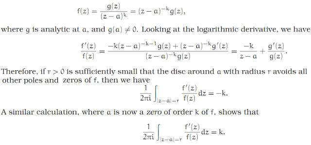 Complex Analysis: #21 The Logarithmic Derivative equation pic 2