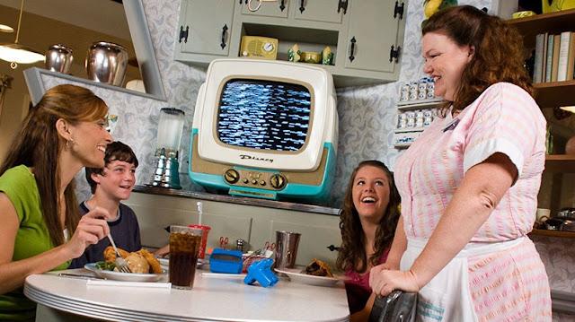 50s Prime Time Rstaurante Disney