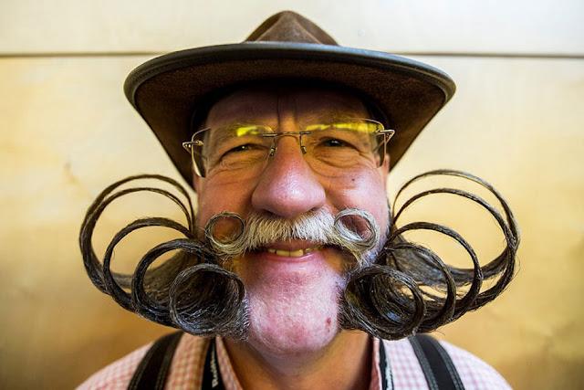 Melhores barbas e bigodes do Campeonato do Mundial de 2015