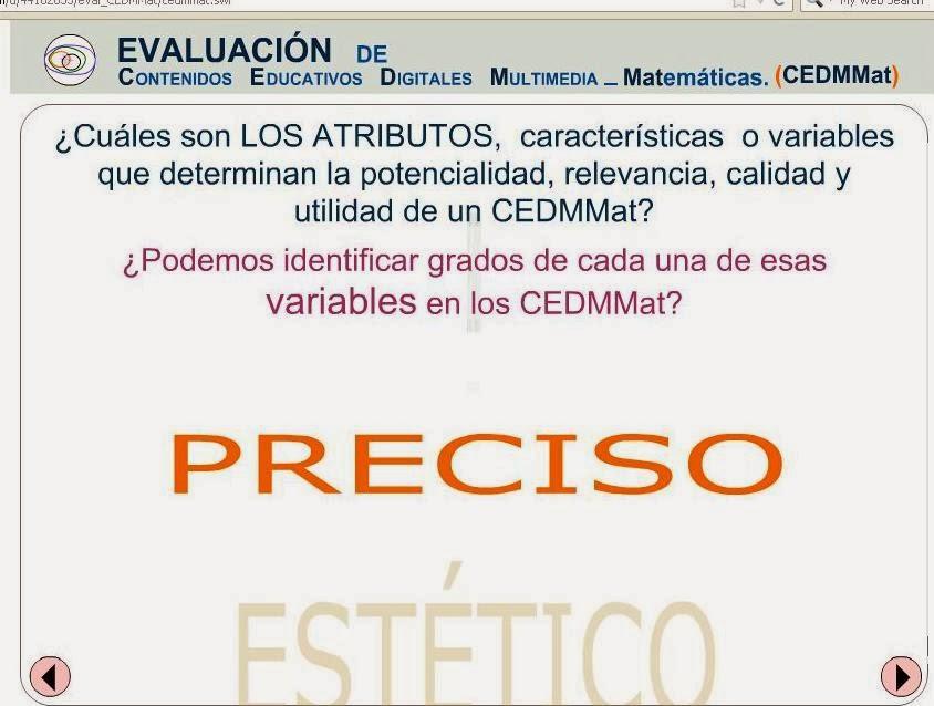 Evaluacion de CEDMMat