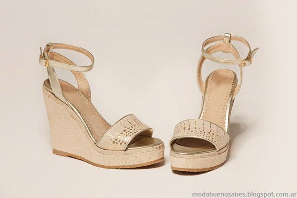 Sandalias 2015. Moda calzado femenino primavera verano 2015 sandalias Veramo.