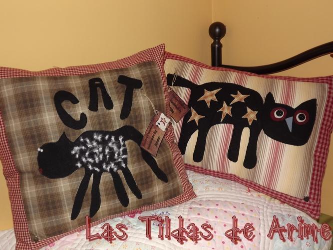 Las tildas de arime mimos almohadas con gatos - Almohada mimos ...