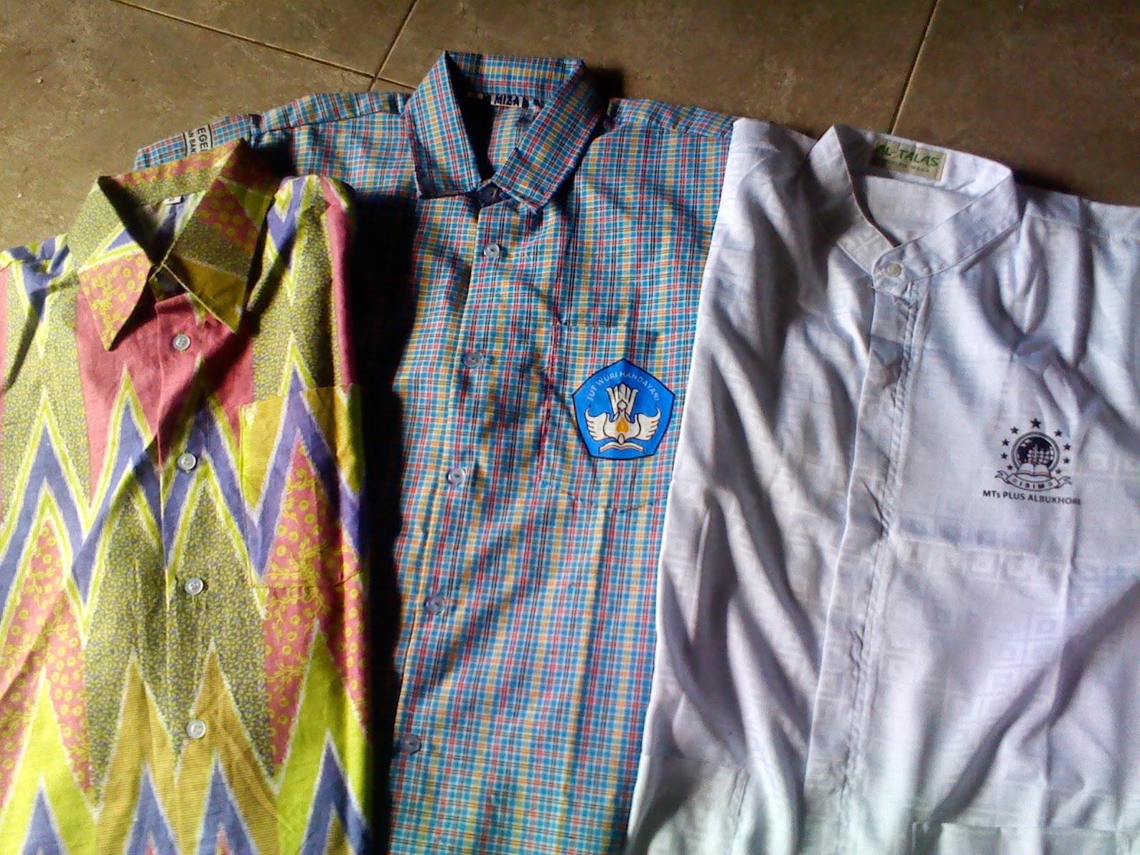 seragam batik kotak