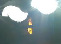 Nationals Park light tower fire
