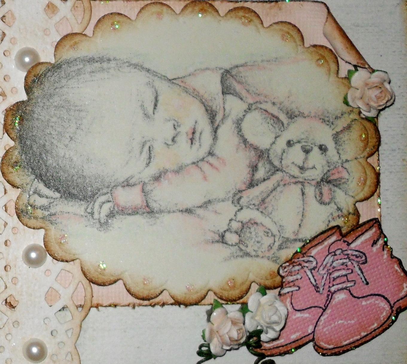 Hvert kort hadde et baby dikt