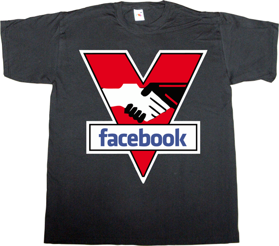 facebook privacy social network big brother george orwell t-shirt ephemeral-t-shirts