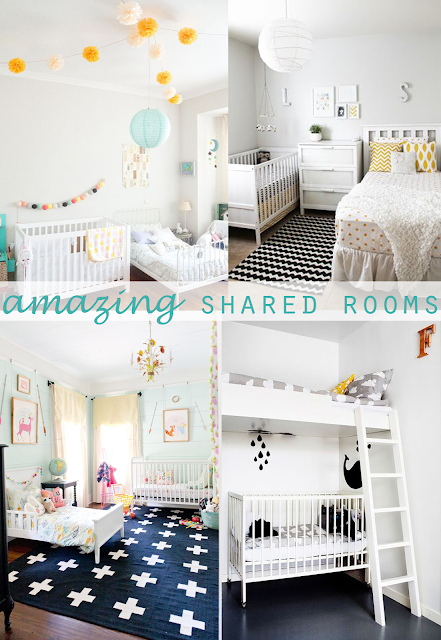 ideas shared kid rooms decor