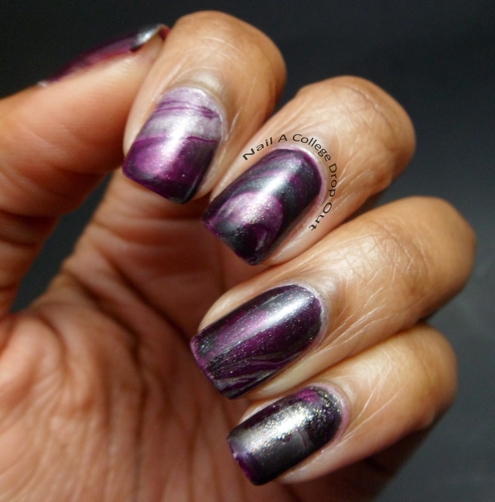 Nail A College Drop Out: Pixi Oil Slick