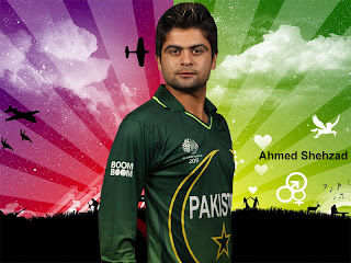 Ahmed Shehzad Latest Wallpapers 2012