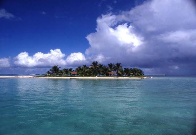 pequena ilha