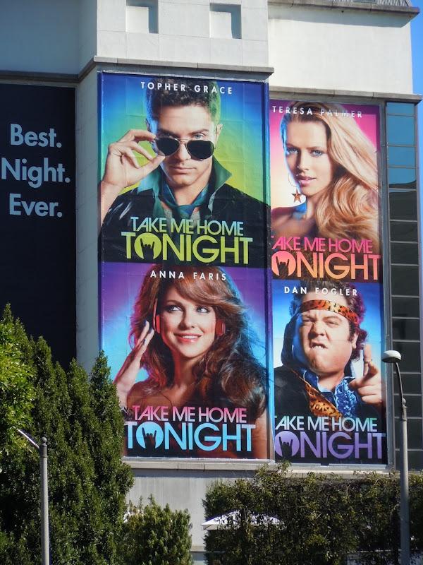 Take Me Home Tonight billboard