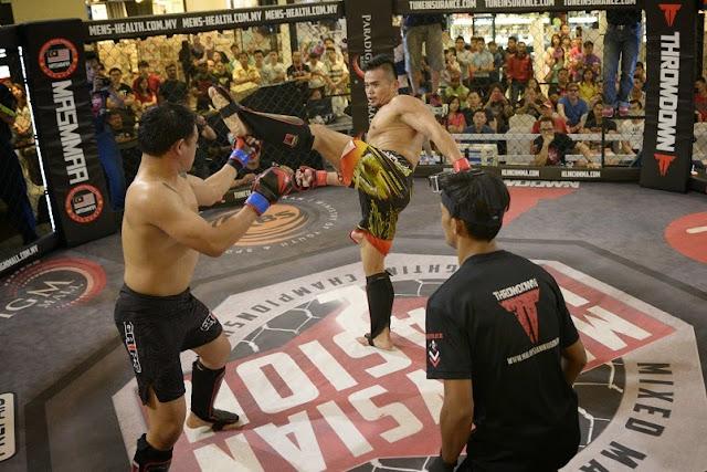 Stephen Onn vs Nicholas Jeffrey MIMMA2 Contender Fights 2014