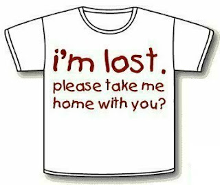 funny t-shirt quotes i'm lost