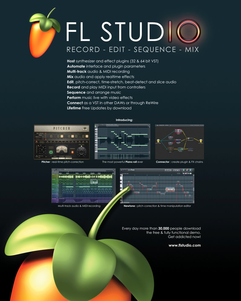 Fl studio 10.0.9c 10.0.9c producer edition final 2017kaiser