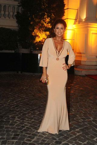 Gala revista gente 2012, Marina Calabró, famosos mal vestidos