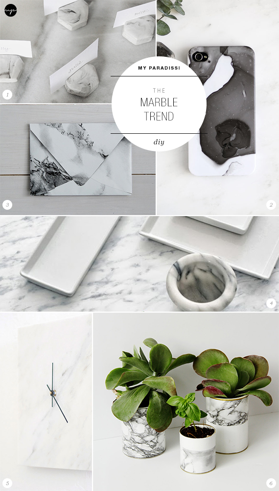 The Marble Trend | Diy