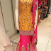 HIGH STREET DESIGNS: A Yellow and Pink Mehndi outfit