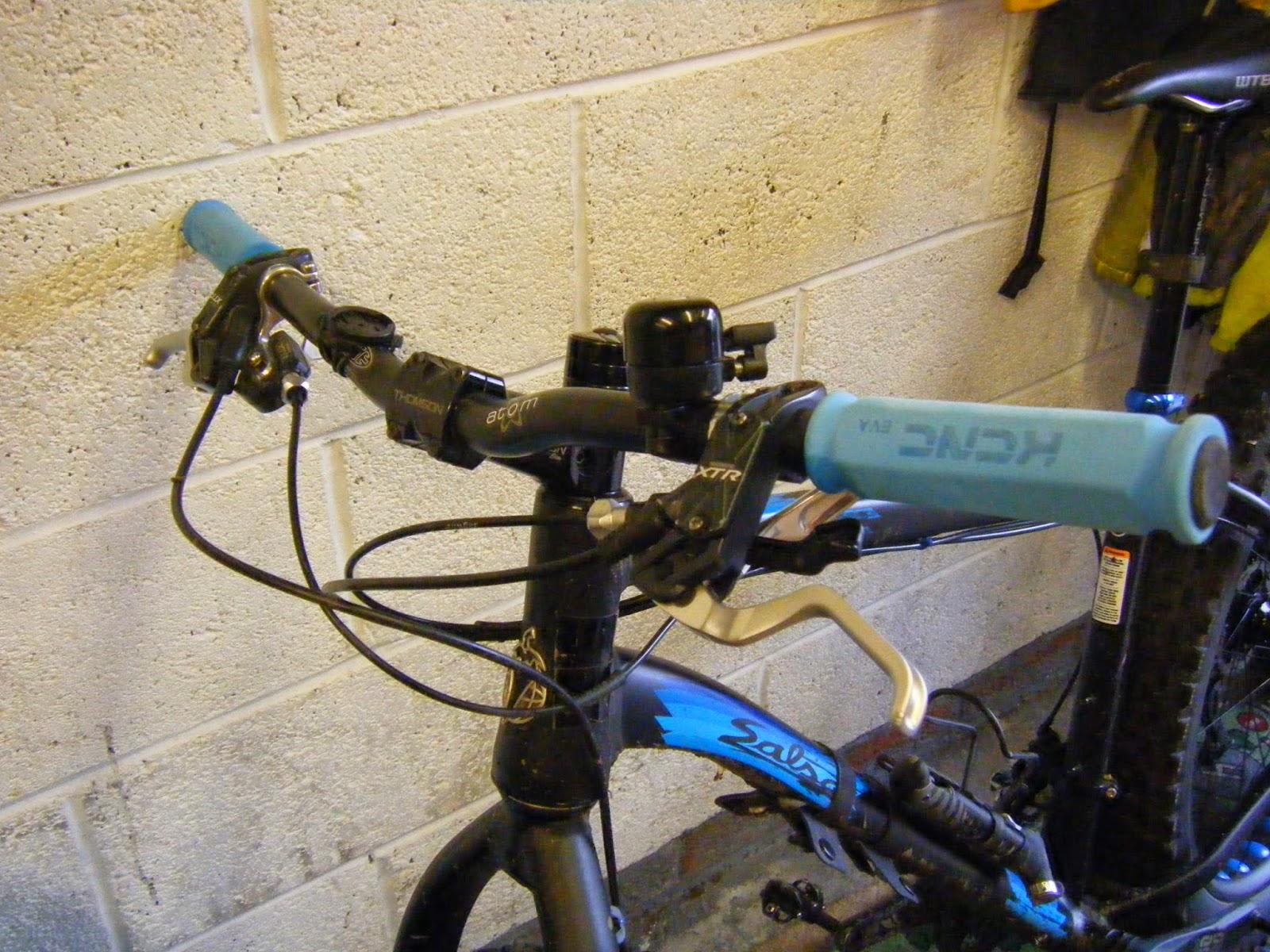 KCNC EVA Foam MTB Mountain Bike Bicycle Cycling Handlebar Bar Grips Black