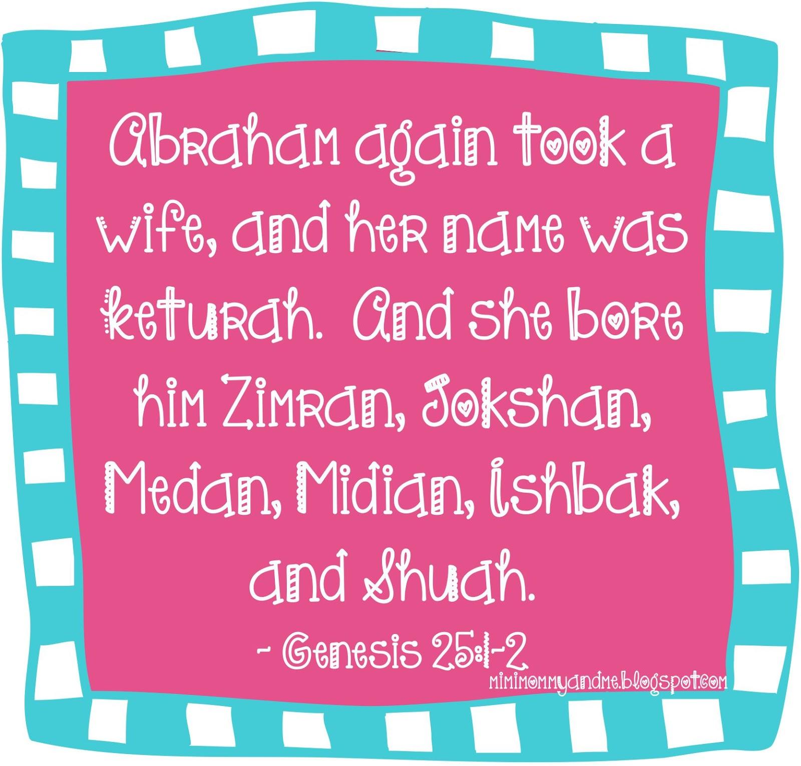 http://mimimommyandme.blogspot.com/2014/06/7-fascinating-details-of-abrahams-life.html #Bible #Abraham #Biblestories