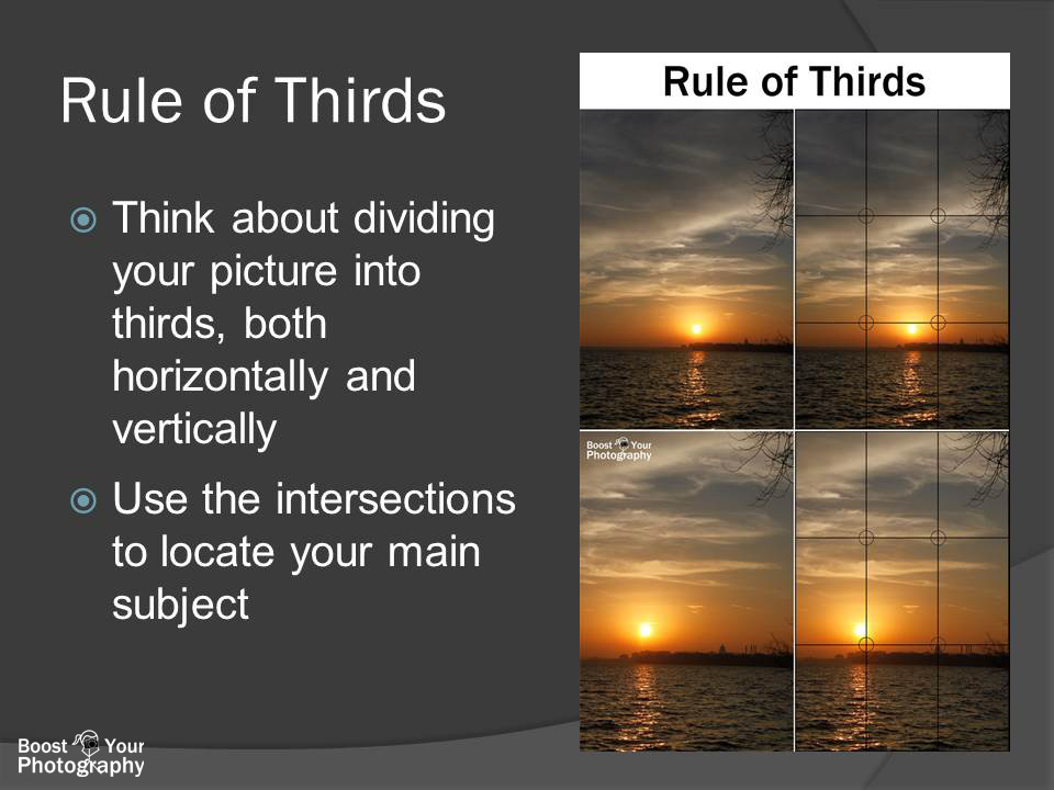 Teaching the Rule of Thirds | Boost Your Photography