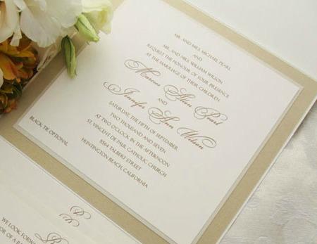 Audrey Hepburn Inspired Wedding Invitation Featured Stationery