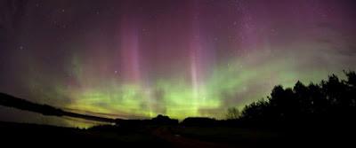 Auroras bolealis 17 de Junio 2012