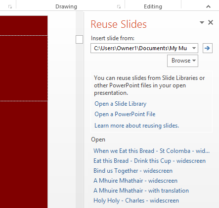 how to set up automatic slideshow in powerpoint 2013