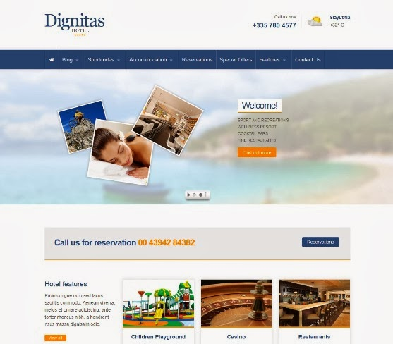 Dignitas - Hotel and Apartment Responsive Theme