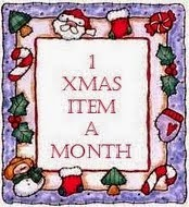 1 Xmas Item A Month