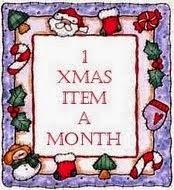 1 Xmas Item A Month