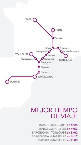 Barcelona par s en tren con renfe y sncf viajeman a for Barcelona paris tren hotel