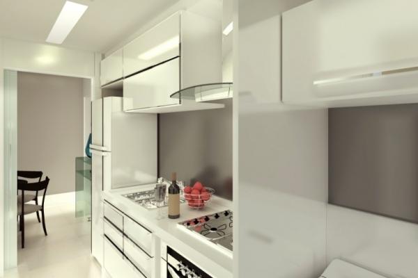Cozinha pequena? Veja como aproveitar cada espaço  Casa Olimpia # Cozinha Compacta Life Stylo Nobre