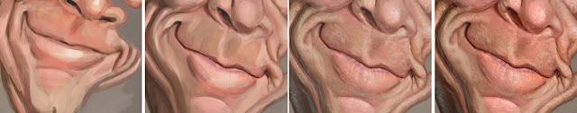 """Proceso nariz y boca """"J. K. Simmons"""" por Bruno Hamzagic"""