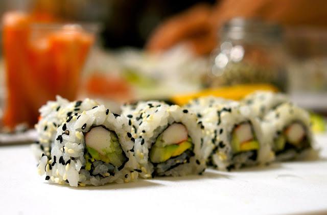 Avanti Savoia, Chef Karen Crumley, Sushi, Qual Eggs.,