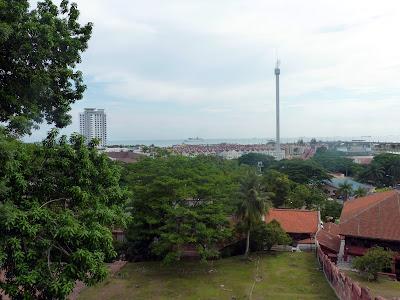 vistas de Malaca, Malasia