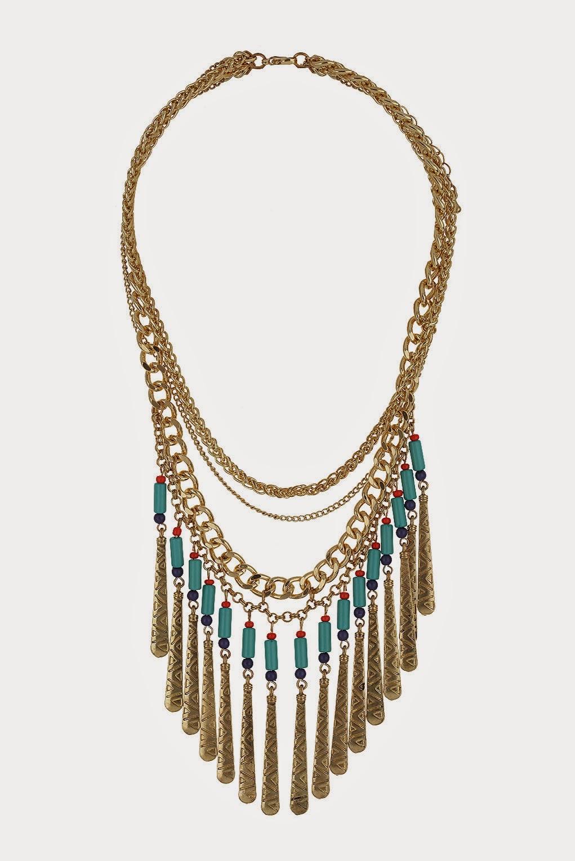 topshop large necklace