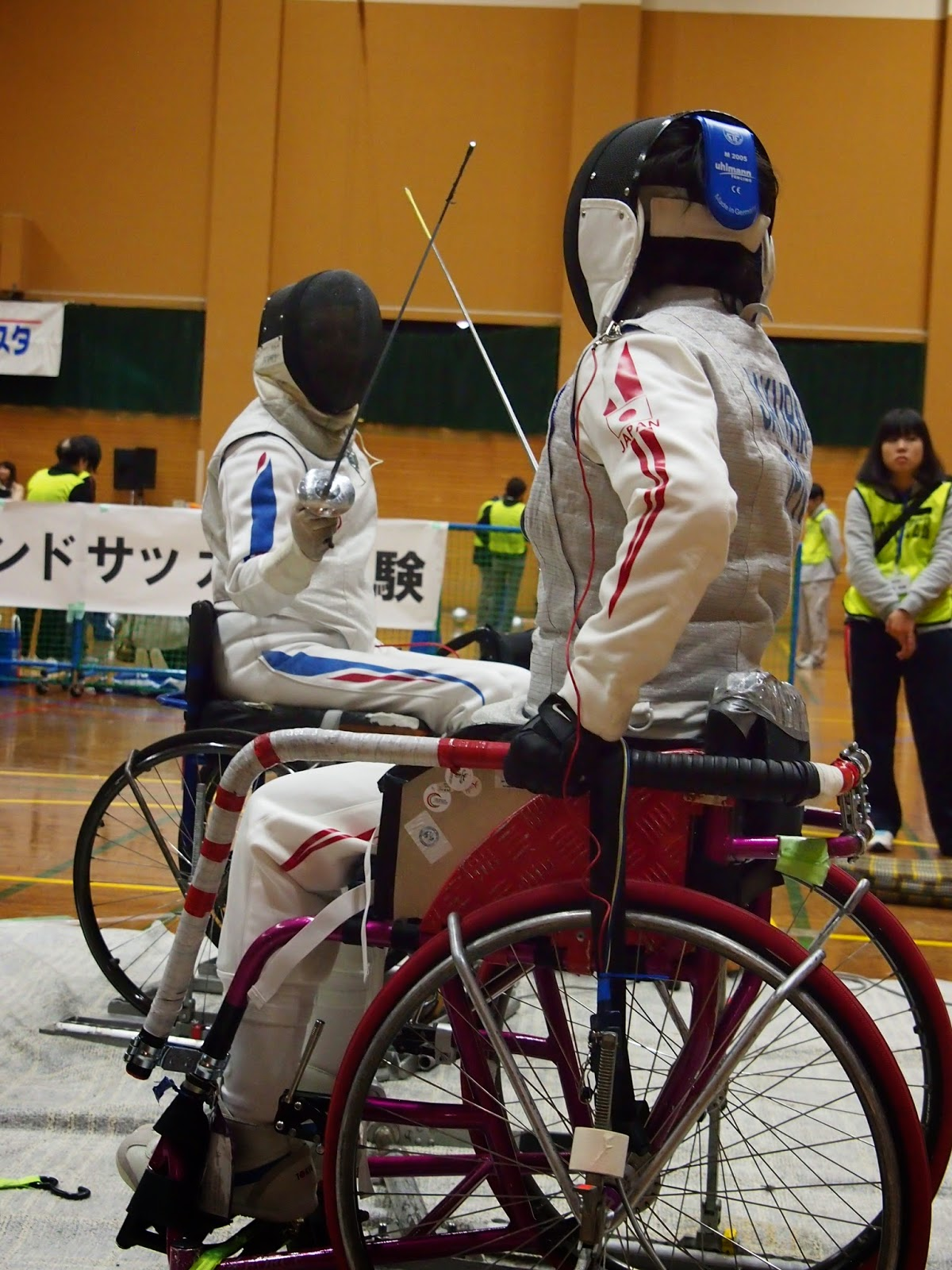 12月7日 NHKハートスポーツフェスタにて
