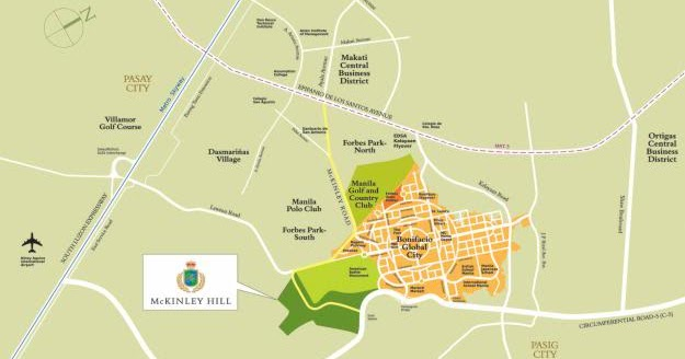 How To Get To McKinley Hill And Venice Grand Canal Mall - Where is manila
