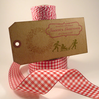 Silhouette Gift Tags for Christmas