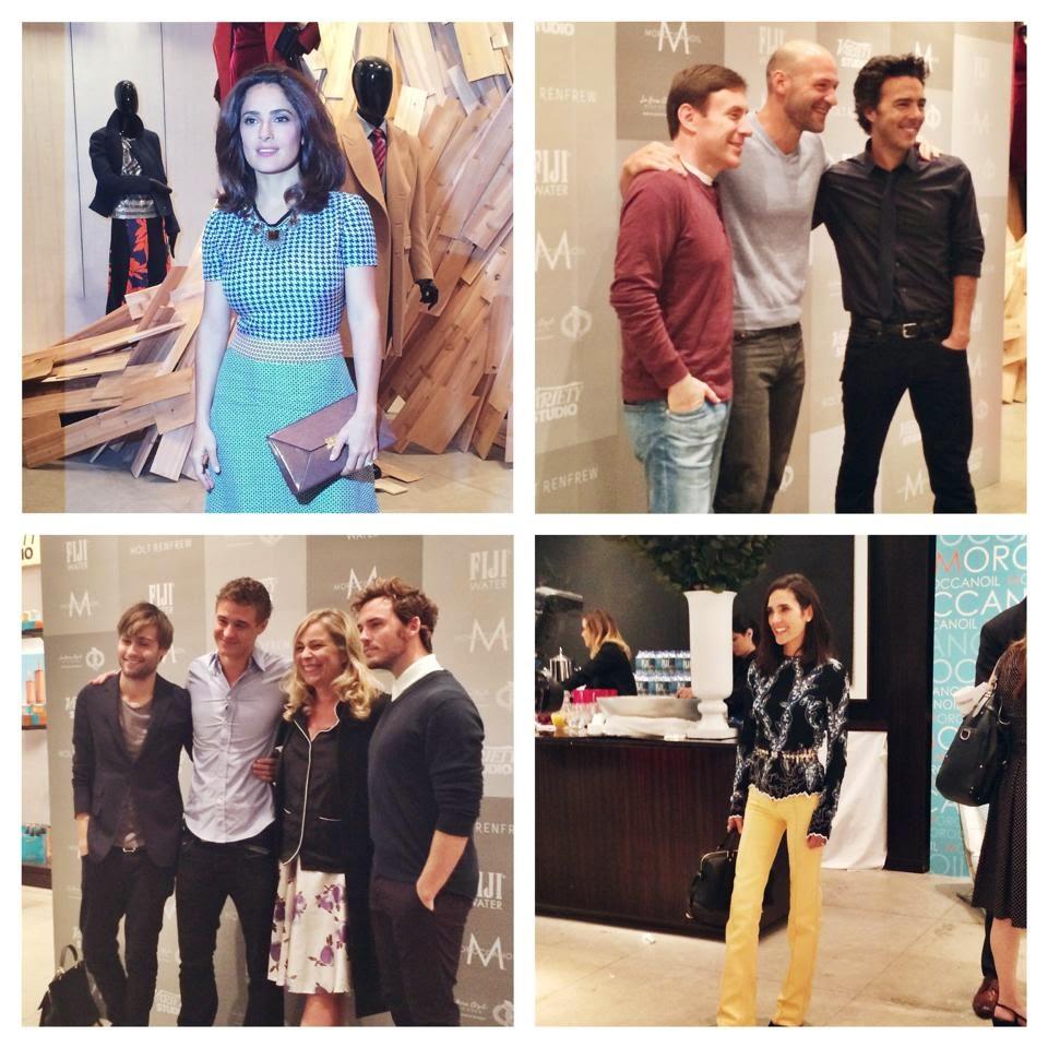 TIFF Beauty, TIFF 2014, Moroccanoil, Moroccanoil  Hair, Moroccanoil Body, Variety Magazine, Variety Studio Holts, Salma Hayek, Michael Douglas, Jennifer Garner