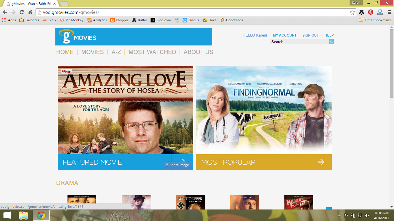 gMovies screen shot