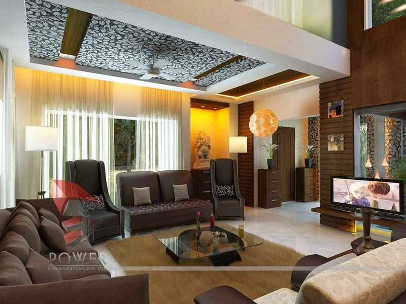 3d interior designs interior designer bungalow interior for Living room designs 3d