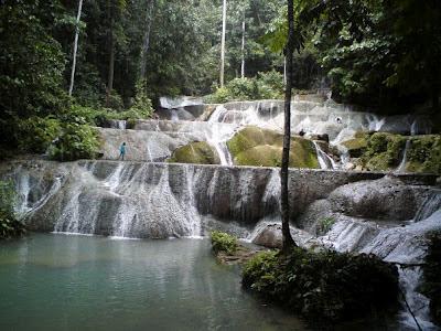 Sungai Biskori sungai terindah di indonesia